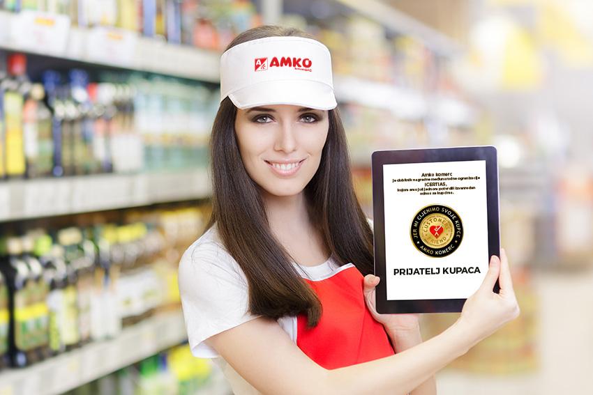 Amko komerc dobitnik prestižnog priznanja za izvanredan odnos sa kupcima